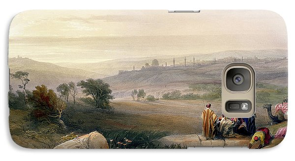 Jerusalem, April 1839 Galaxy S7 Case by David Roberts