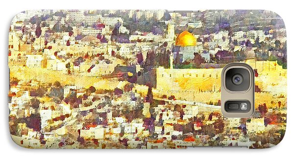 Jerusalem Sunrise Galaxy S7 Case