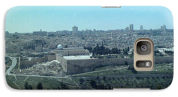 Galaxy Case featuring the photograph Jerusalem by Tony Mathews