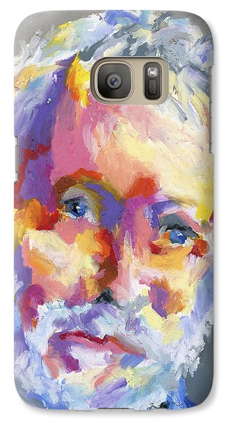 Galaxy Case featuring the painting Jesse Winchester by Stephen Anderson