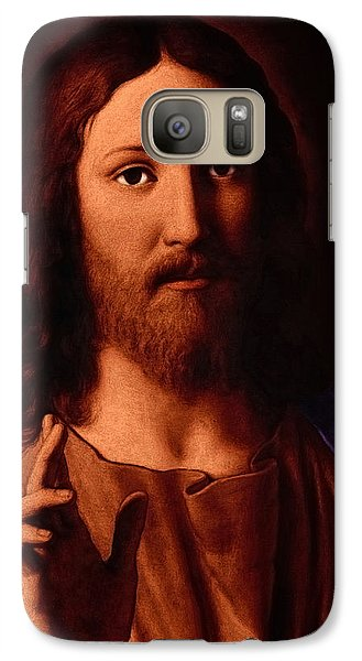 Galaxy Case featuring the digital art Jesus Christ by A Samuel