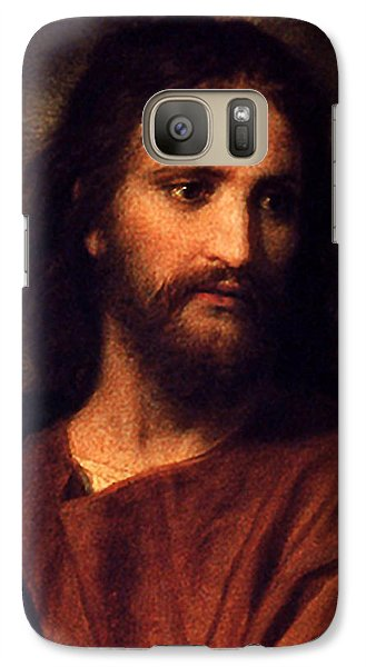 Galaxy Case featuring the digital art Jesus Christ by Heinrich Hofmann