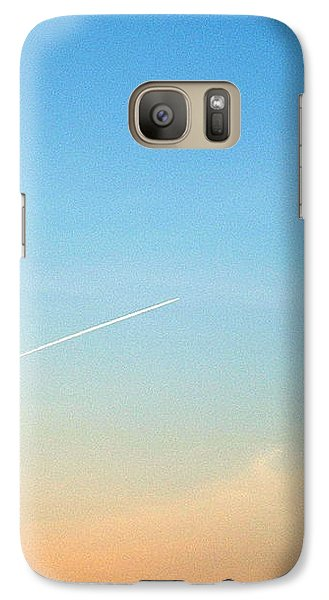 Galaxy S7 Case featuring the photograph Jet To Sky by Marc Philippe Joly
