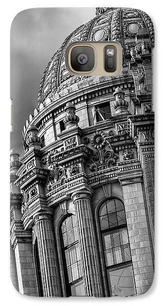 Galaxy Case featuring the photograph Jeweler's Building by James Howe