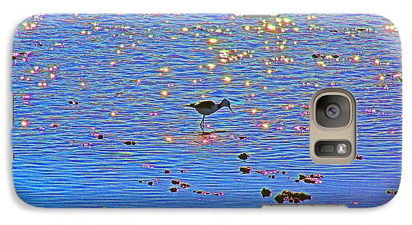 Galaxy Case featuring the photograph Jewelled Water by Cassandra Buckley