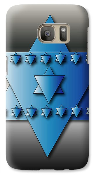 Jewish Stars Galaxy S7 Case by Marvin Blaine