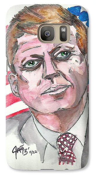 Galaxy Case featuring the painting JFK by The GYPSY And DEBBIE