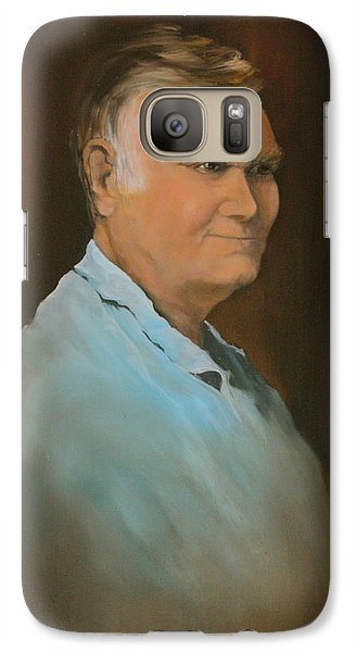 Galaxy Case featuring the painting Jim by Jean Walker