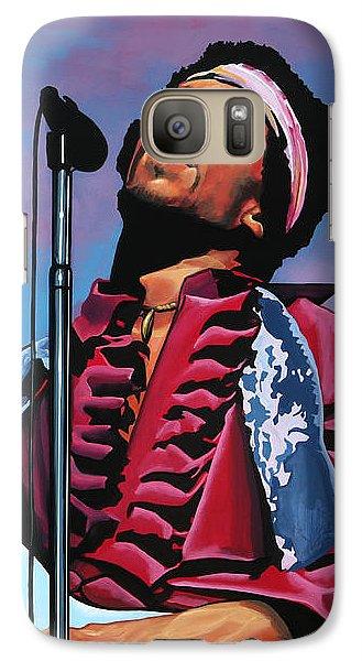 Knight Galaxy S7 Case - Jimi Hendrix 2 by Paul Meijering