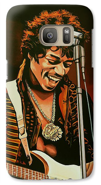 Jimi Hendrix Painting Galaxy S7 Case
