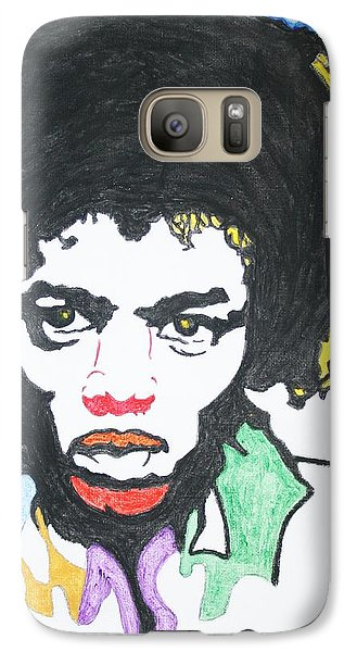 Galaxy Case featuring the painting Jimi Hendrix by Stormm Bradshaw