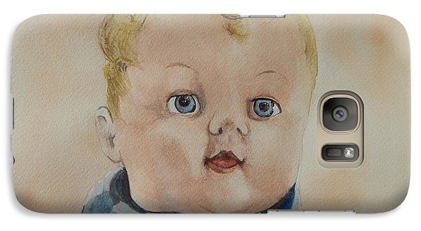 Galaxy Case featuring the painting Jimmy James by Betty-Anne McDonald