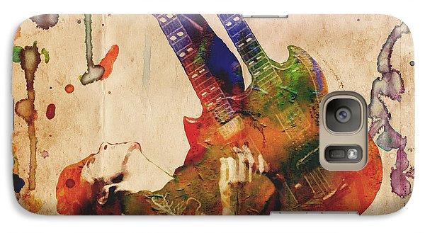 Jimmy Page - Led Zeppelin Galaxy S7 Case