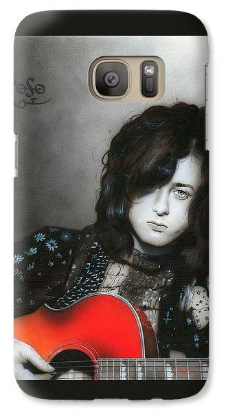 Jimmy Page Galaxy S7 Case