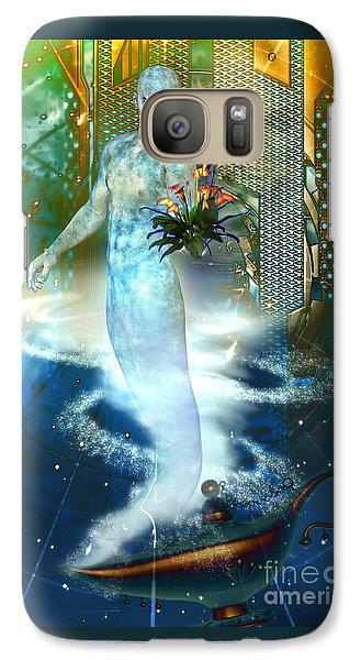 Galaxy Case featuring the digital art Jinn by Shadowlea Is