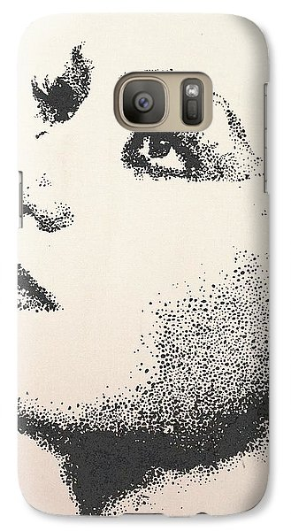 Galaxy Case featuring the painting Joan Crawford by Cherise Foster