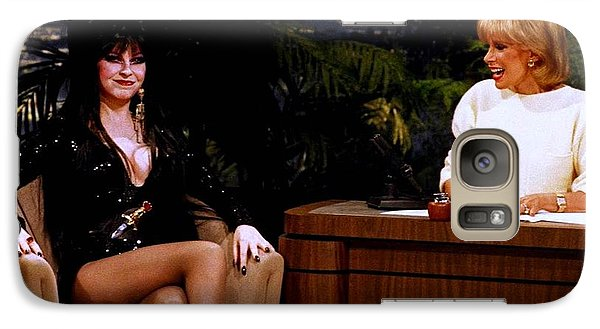 Joan Rivers And Elvira Galaxy Case by Brian Benjamin