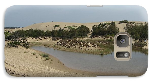 Galaxy Case featuring the photograph Jockey's Ridge 3 by Cathy Lindsey