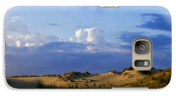 Galaxy Case featuring the photograph Jockey's Ridge State Park by Skip Tribby