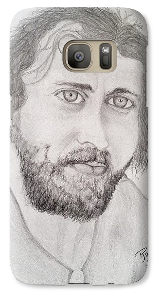 Galaxy Case featuring the painting Joe Cocker by Rand Swift
