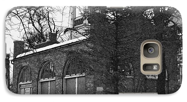 Galaxy Case featuring the digital art John Brown Fort Shenandoah Street Harpers Ferry West Virginia by David Blank