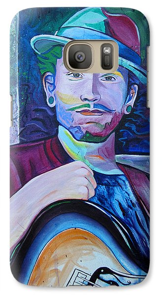 Galaxy Case featuring the painting John Butler by Joshua Morton