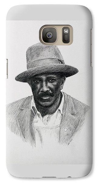 Galaxy Case featuring the drawing John Hearn by Daniel Reed