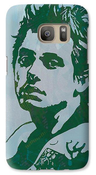 John Mayer - Pop Stylised Art Sketch Poster Galaxy S7 Case by Kim Wang