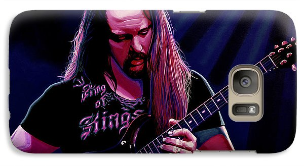 John Petrucci Painting Galaxy S7 Case by Paul Meijering