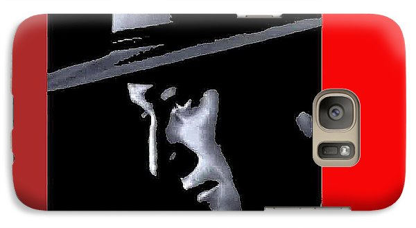 Galaxy Case featuring the photograph John Wayne As The Ringo Kid Stagecoach 1939-2013 by David Lee Guss