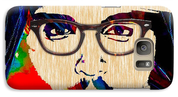 Johnny Depp Collection Galaxy Case by Marvin Blaine