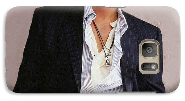 Johnny Depp Galaxy S7 Case