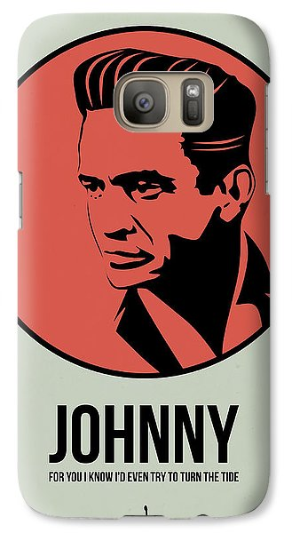 Johnny Poster 2 Galaxy S7 Case by Naxart Studio