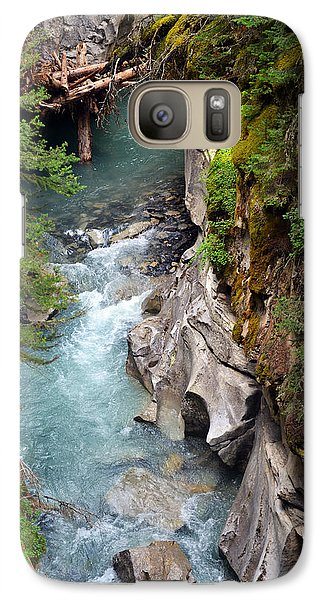 Galaxy Case featuring the photograph Johnston Canyon by Yue Wang