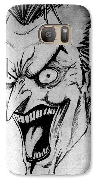 Galaxy Case featuring the painting Joker by Salman Ravish