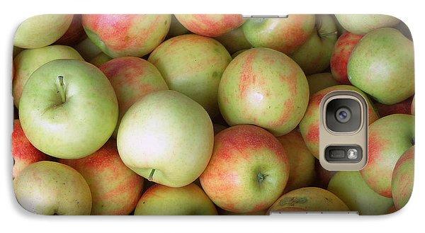 Galaxy Case featuring the photograph Jonagold Apples by Joseph Skompski