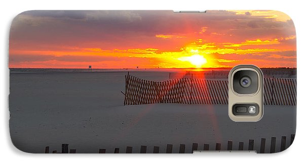 Galaxy Case featuring the photograph Jones Beach Sunset One by Jose Oquendo