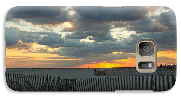 Galaxy Case featuring the photograph Jones Beach Sunset Three by Jose Oquendo