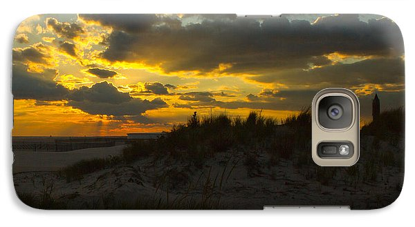 Galaxy Case featuring the photograph Jones Beach Sunset Two by Jose Oquendo
