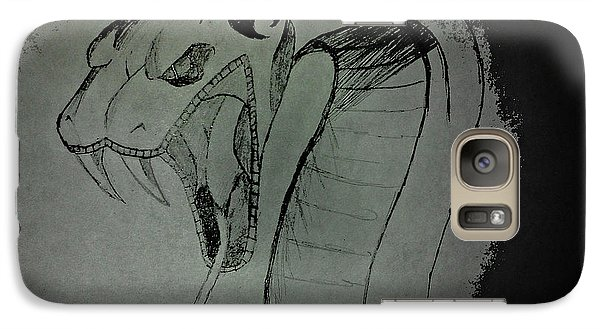 Galaxy Case featuring the photograph Jonny's Snake  by Mindy Bench