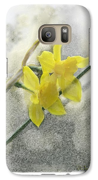 Galaxy Case featuring the photograph Jonquils by Robert Camp