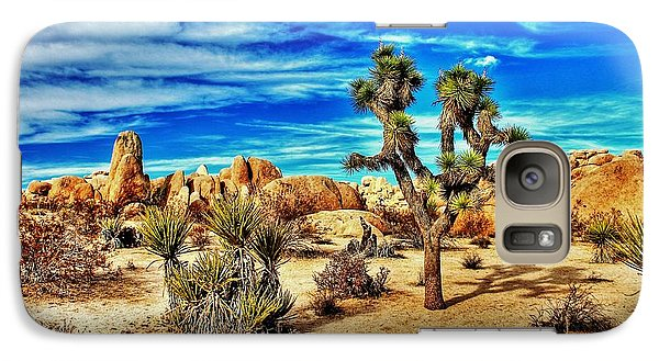 Galaxy Case featuring the photograph Joshua Tree by Benjamin Yeager
