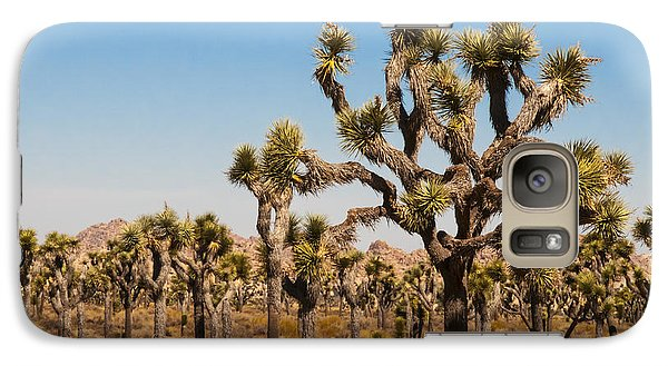 Galaxy Case featuring the photograph Joshua Trees  by Penny Lisowski