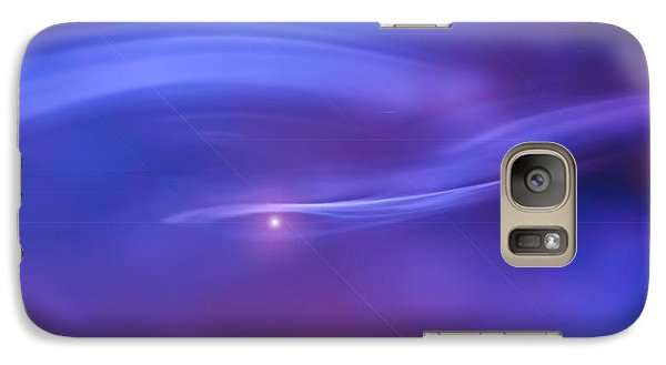 Galaxy Case featuring the photograph Journey Into You  by Steven Poulton