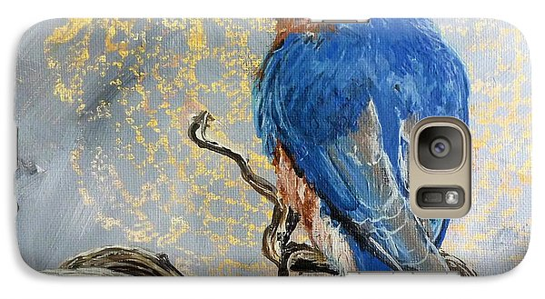Galaxy Case featuring the painting Journey's Rest by Susan Fisher