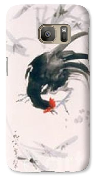 Galaxy Case featuring the painting Jovial by Fereshteh Stoecklein