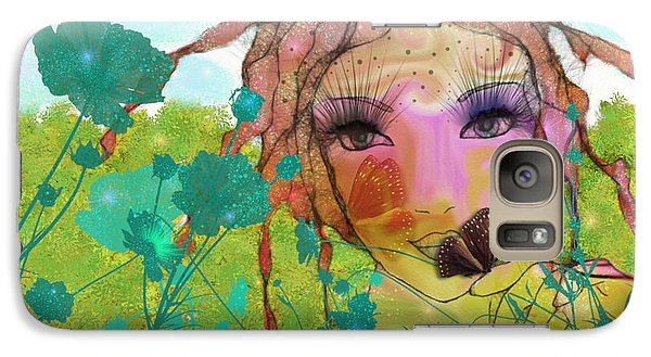 Galaxy Case featuring the digital art Joy by Barbara Orenya