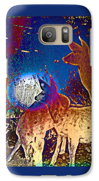 Galaxy Case featuring the photograph Joy In The Holidays by Lenore Senior and Dawn Senior-Trask