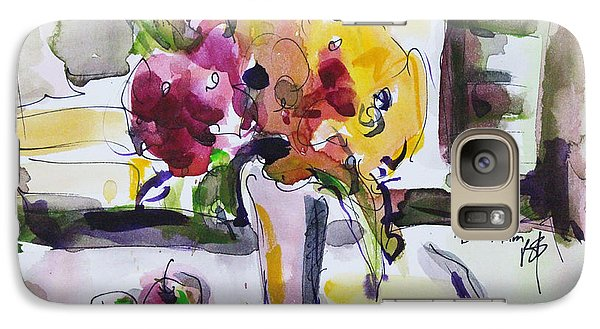 Galaxy Case featuring the painting Joy Of Spring by Becky Kim