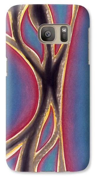 Galaxy Case featuring the pastel Joy by Susan Will